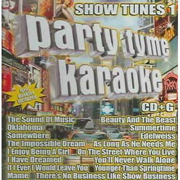 Party Tyme Karaoke - Party Tyme Karaoke - Show Tunes 1 (16-song CD+G)