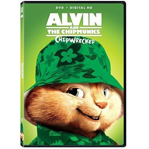 alvin and the chipmunks 3 chipwrecked dvd hd target