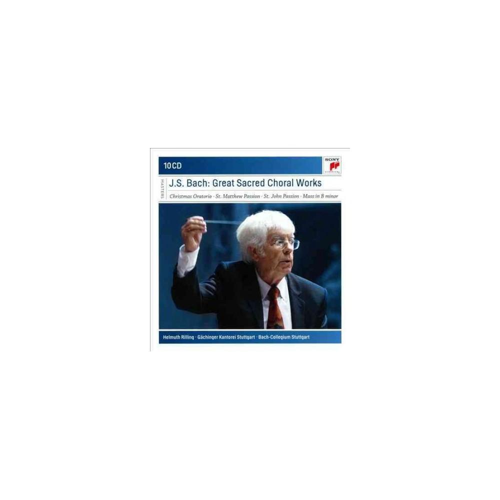 Helmuth Rilling - Bach:Sacred Choral Works (CD)