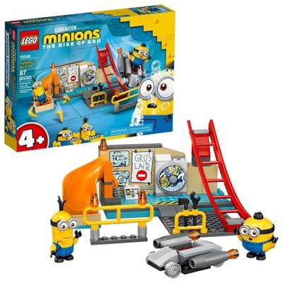 LEGO Minions Minions in Gru's Lab Building Toy 75546