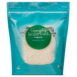Organic Jasmine Rice 30oz - Simply Balanced™