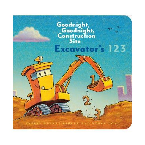 Excavator's 123: Goodnight, Goodnight, Construction Site (Counting Books for Kids, Learning to Count - image 1 of 1