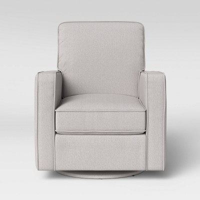 Canaan Swivel Glider Chair Cream   Threshold™ : Target