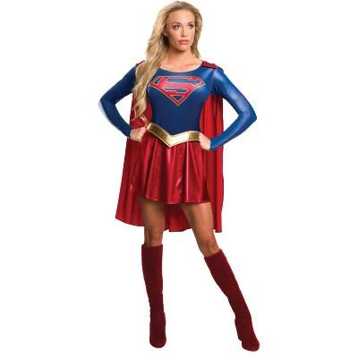 Adult Supergirl Halloween Costume