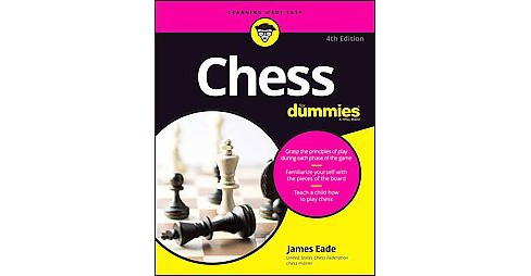 Chess for Dummies (Paperback) (James Eade) - image 1 of 1