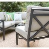 Blakely 5pc Patio Seating Set with Sunbrella Fabric - Tan - Leisure Made - image 6 of 7
