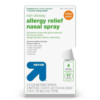 Fluticasone Propionate Allergy Relief Nasal Spray - up & up™
