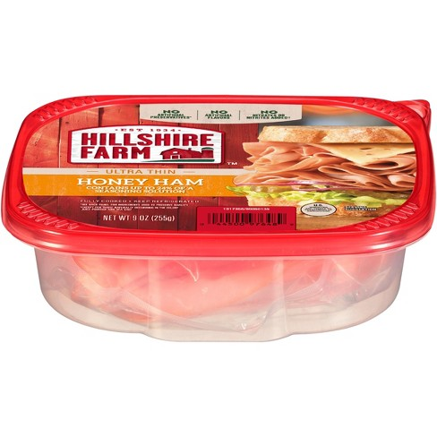 Hillshire Farms Ultra Thin Deli Select Honey Ham - 9oz - image 1 of 1