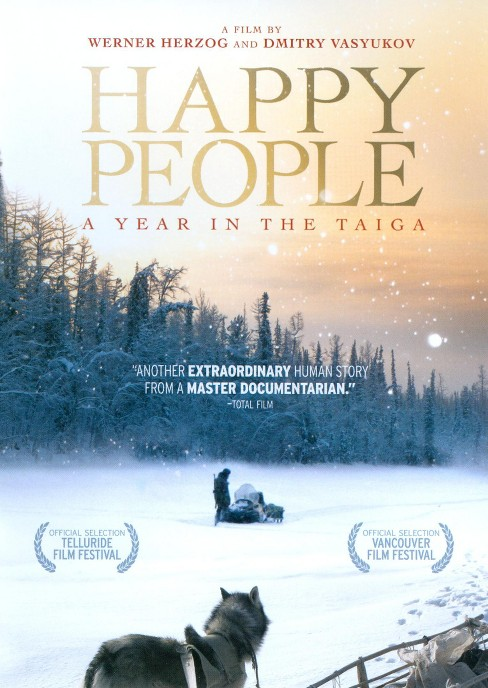 Happy people:Year in the taiga (DVD) - image 1 of 1