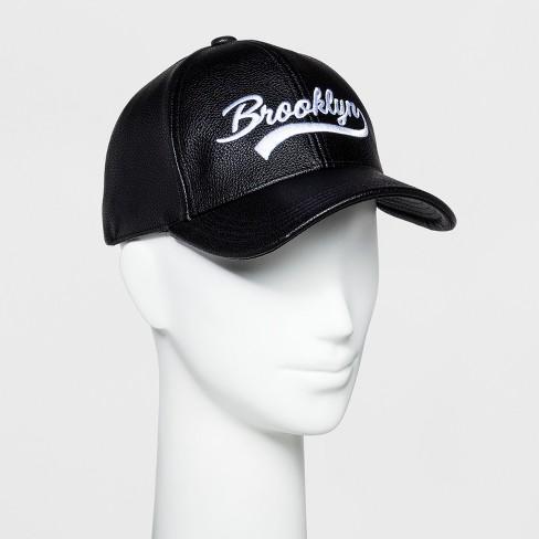 7b6d281e301 Women s Baseball Hat - Wild Fable™ Black   Target