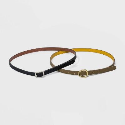 Women's 2 Fer Reversible Belt - Universal Thread™