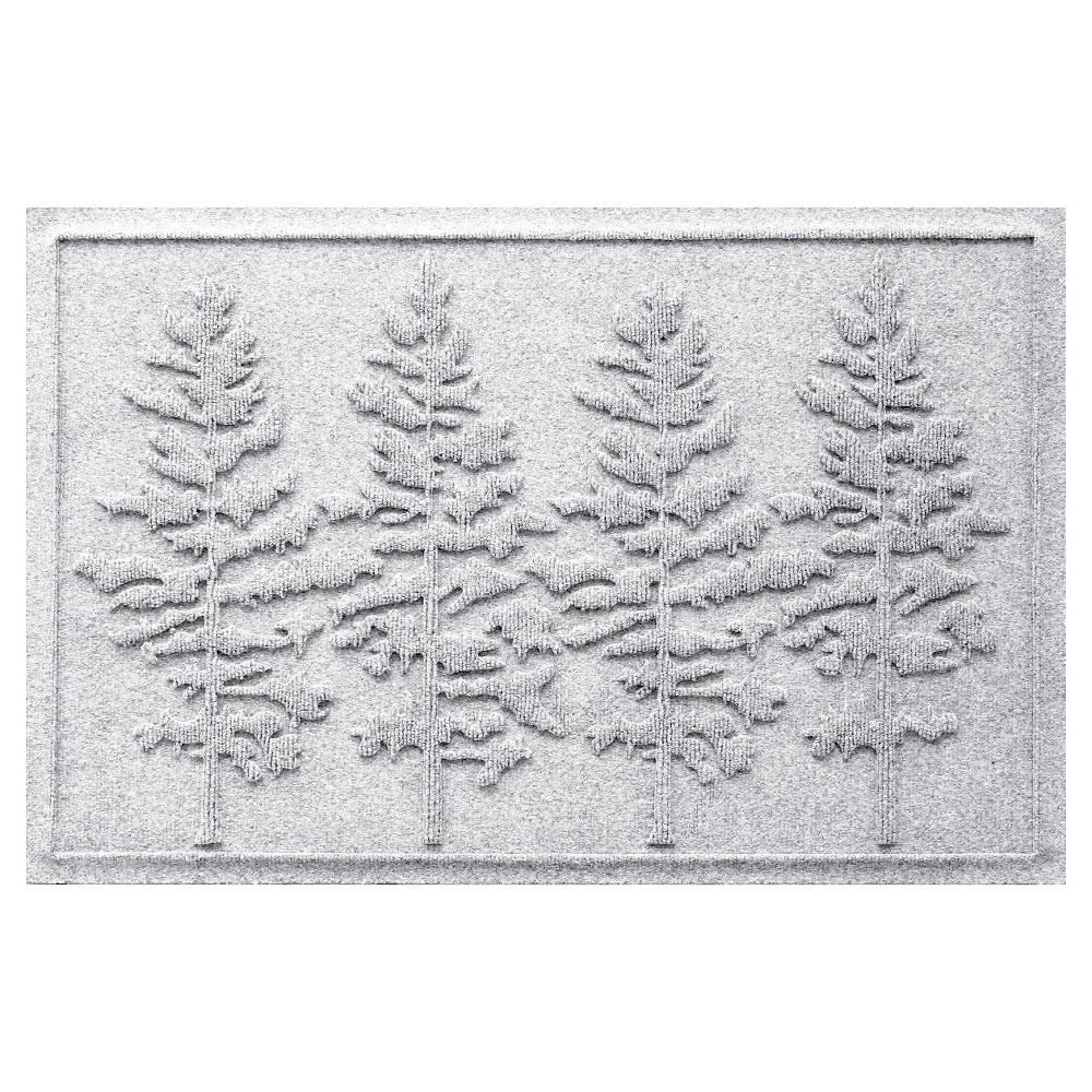 White Solid Doormat - (2'X3') - Bungalow Flooring