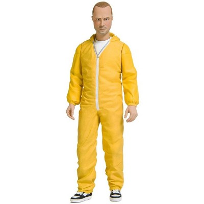 "Mezco Toyz Mezco Toyz Breaking Bad Jesse Pinkman 6"" Yellow Hazmat Suit Figure"