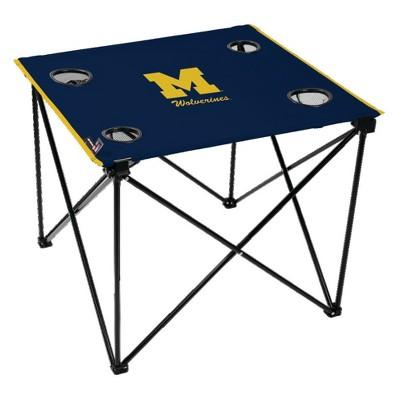 NCAA Michigan Wolverines Portable Table