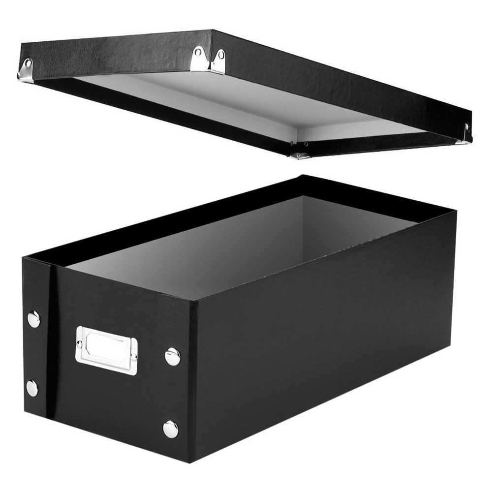 Image of Snap-N-Store Disc Storage Box - Black