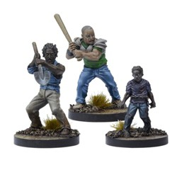 Game Booster - Morgan, Distraught Father Miniatures Box Set