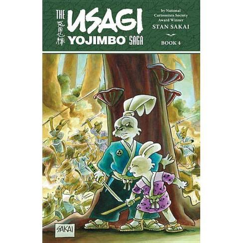 Usagi Yojimbo Saga Volume 4 - by  Stan Sakai (Paperback) - image 1 of 1