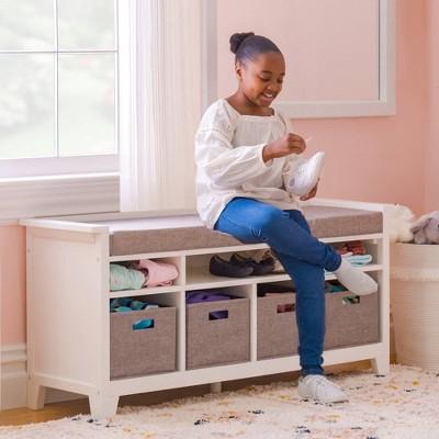 Living & Learning Kids' Storage Bench - Martha Stewart