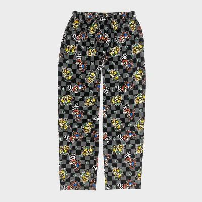 Men's Nintendo Mario Kart Pajama Pants - Dark Gray