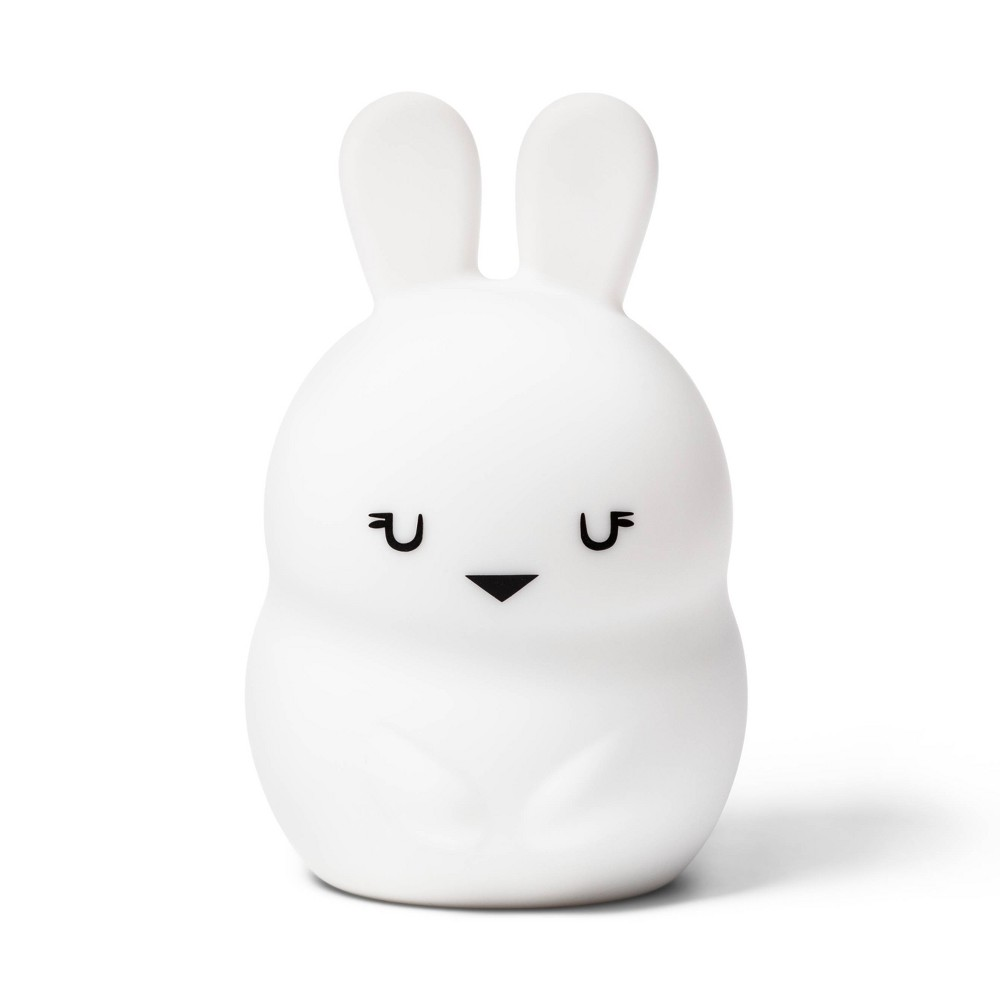 Image of Bunny Nightlight - Cloud Island , White Black