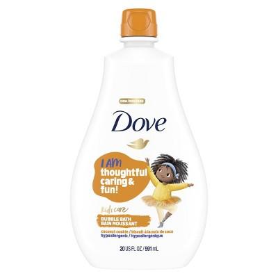 Dove Kids Care Hypoallergenic Bubble Bath Coconut Cookie - 20 fl oz