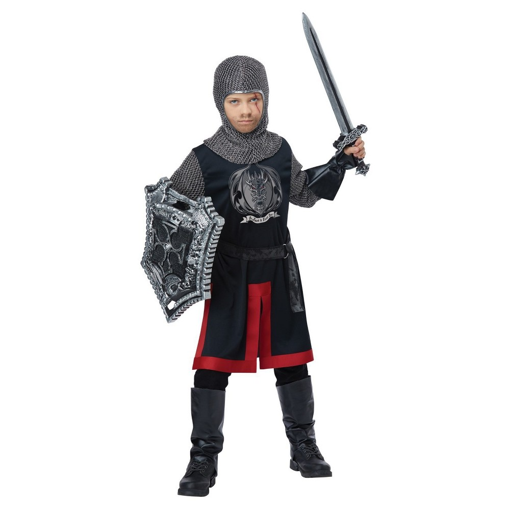 Image of Halloween Kids' Dragon Knight Halloween Costume L, Adult Unisex, Size: Large, MultiColored