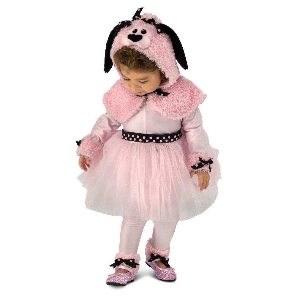 Image of Halloween Toddler Girls' Princess Poodle Costume 18M-2T, Girl's, Size: 18-24 Months, MultiColored