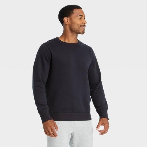 Men's Cotton Fleece Crewneck Sweatshirt - All in Motion™ - image 1 of 4