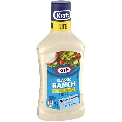 2c9f67ed5 Kraft Classic Light Ranch Salad Dressing 16oz : Target