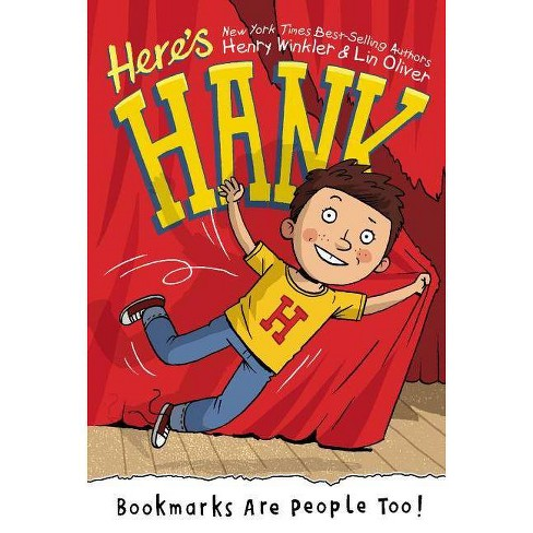 Bookmarks Are People Too! - (Here's Hank) by  Henry Winkler & Lin Oliver (Hardcover) - image 1 of 1