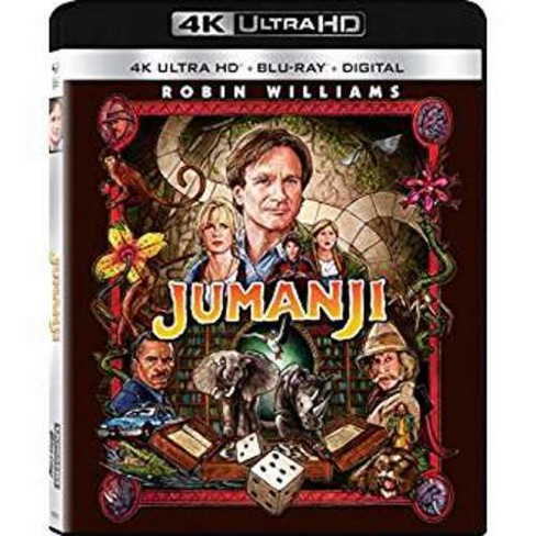 Jumanji (4K/UHD + Blu-ray + Digital) - image 1 of 1