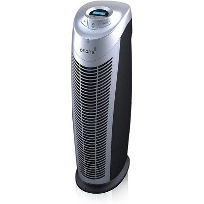 Oransi Finn HEPA UV Air Purifier with 2 Free Pre-Filters OVHT9908, Home And Office Application, Easy to Use - Black