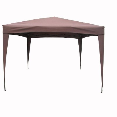 LB International 10u0027 X 10u0027 Pop-Up Outdoor Garden Tent Canopy Gazebo - Brown  Target  sc 1 st  Target & LB International 10u0027 X 10u0027 Pop-Up Outdoor Garden Tent Canopy Gazebo ...