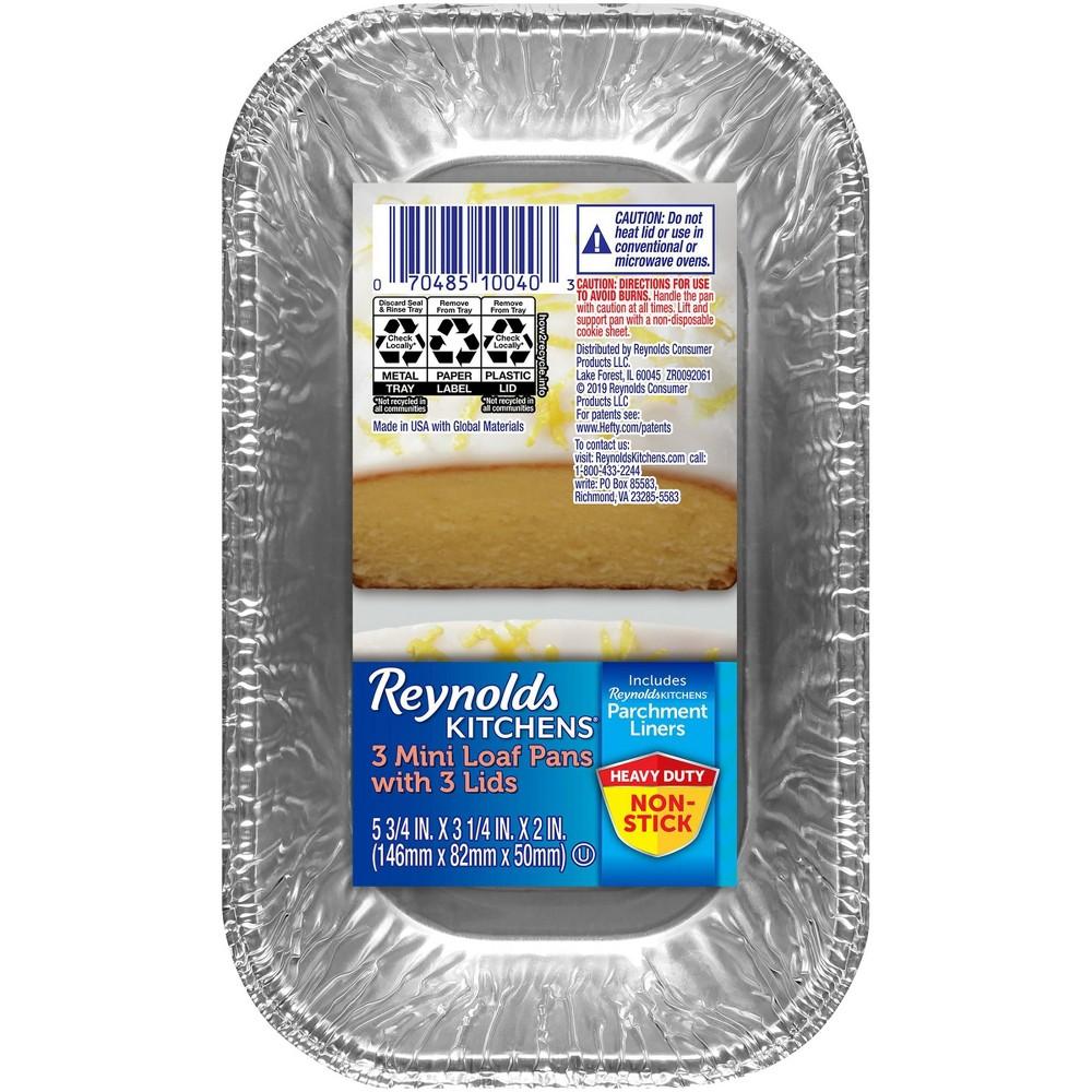 Reynolds Loaf With Parchment 38 Lids 1lb 3ct