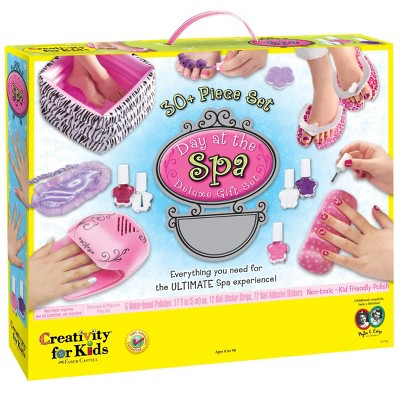 Creativity For Kids 30pc Day at the Spa Deluxe Gift Set
