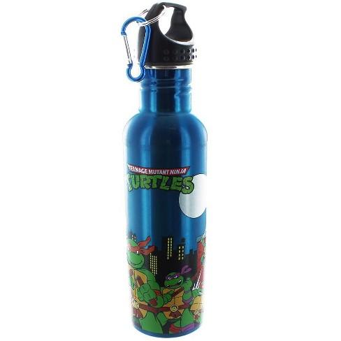 Just Funky Teenage Mutant Ninja Turtles Group 25oz Aluminum Water Bottle - image 1 of 1