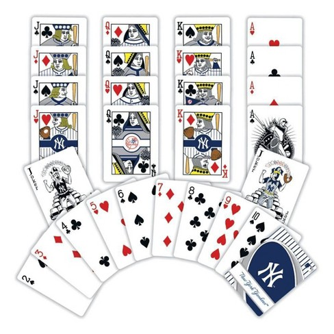 MLB New York Yankees Playing Card Game 2pk - image 1 of 3