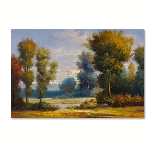 "Trademark Fine Art 47"" X 30"" Daniel Moises 'Memory Lane' Canvas Art - image 1 of 3"