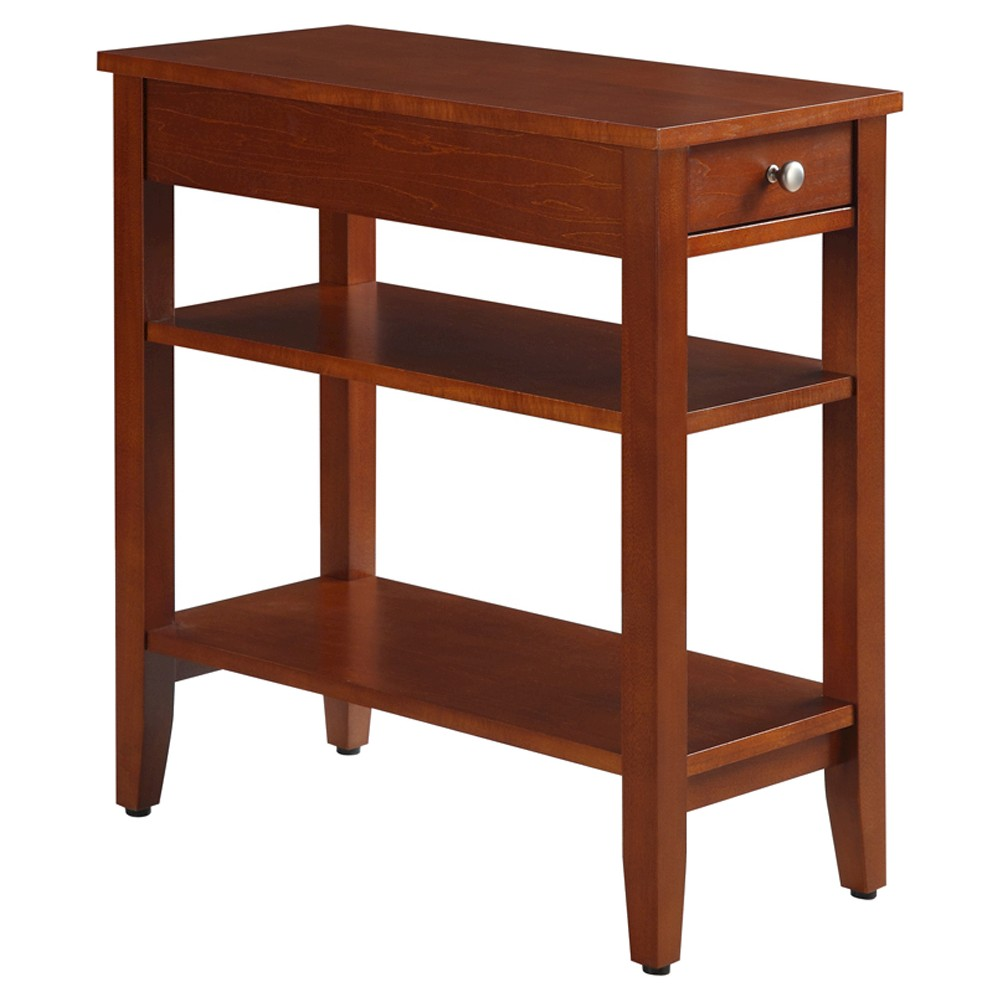 Image of American Heritage 3 Tier End Table - Convenience Concepts, Auburn