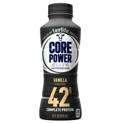 Core Power Vanilla Elite Protein Drink - 14 fl oz Bottle