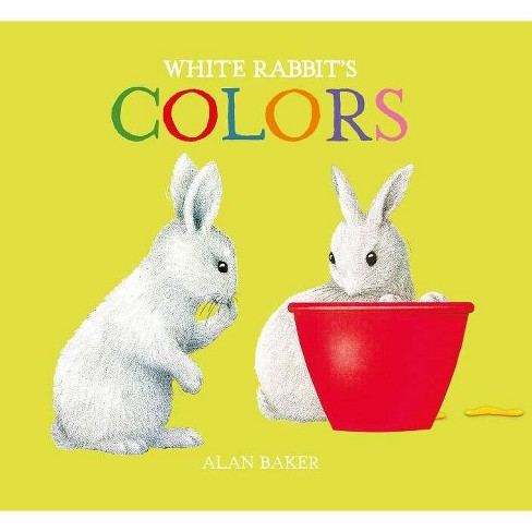 White Rabbit's Colors - (Little Rabbit Books) by  Alan Baker (Board_book) - image 1 of 1