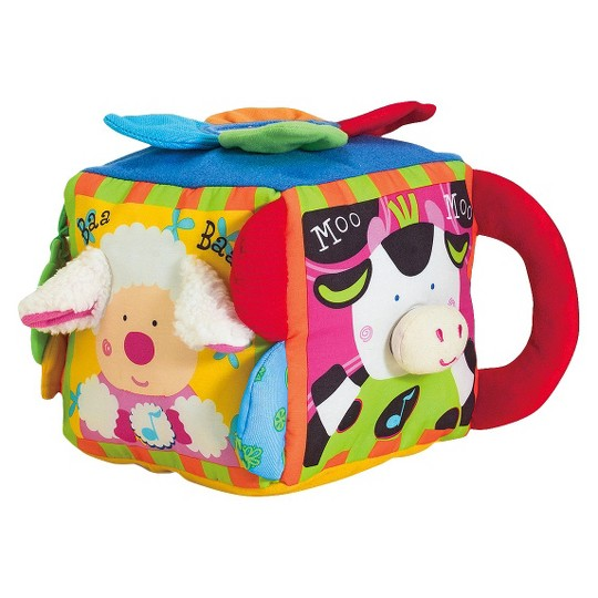 Melissa & Doug K's Kids Musical Farmyard Cube Educational Baby Toy image number null