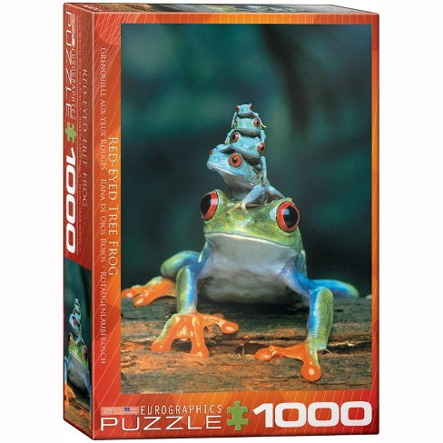 Eurographics Inc. Red-Eyed Tree Frog 1000 Piece Jigsaw Puzzle - image 1 of 4