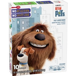 Betty Crocker The Life Of Pets Fruit Flavored Snacks - 8oz