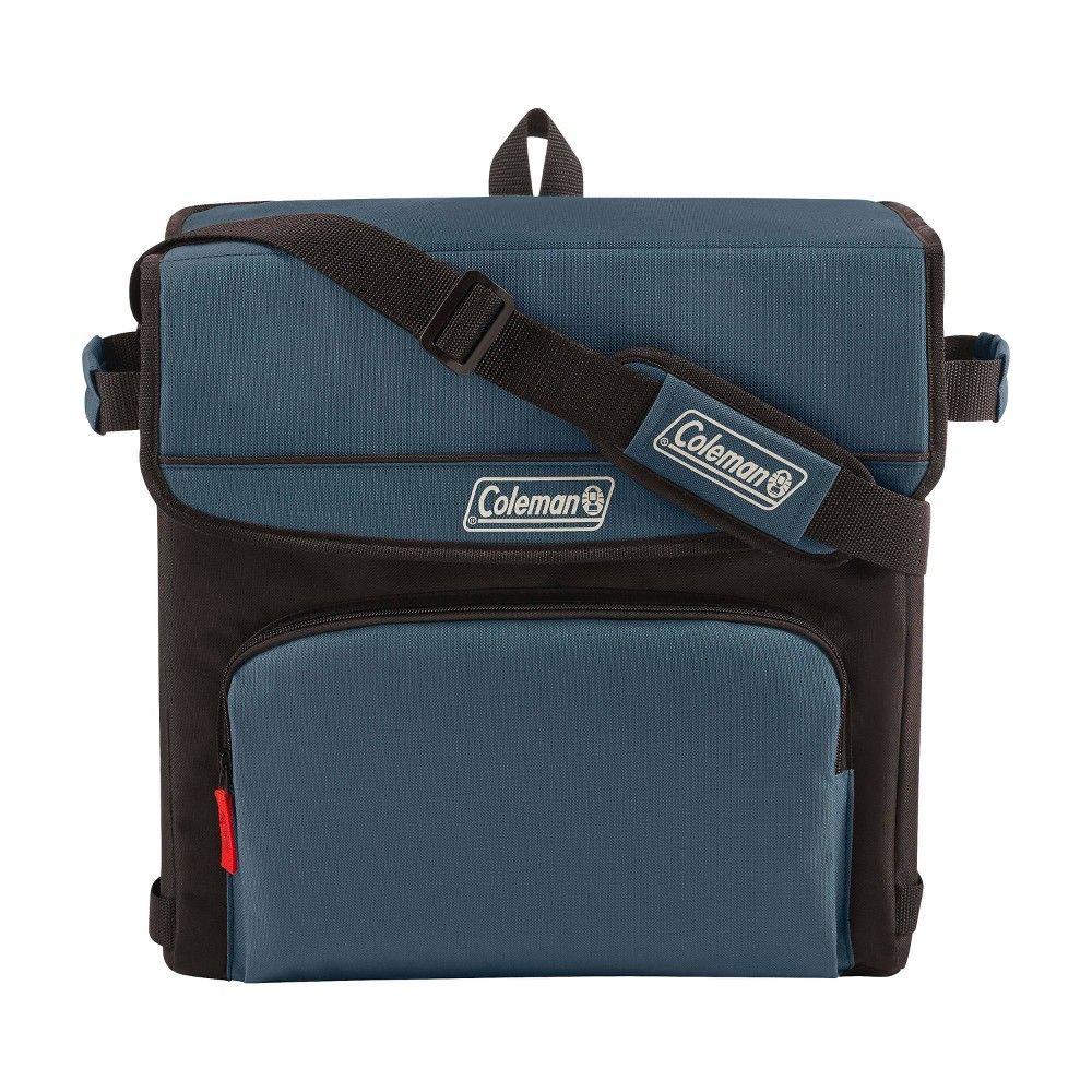 Image of Coleman 54 Can Collapsible Soft-Sided Cooler Bag - Slate, Gray