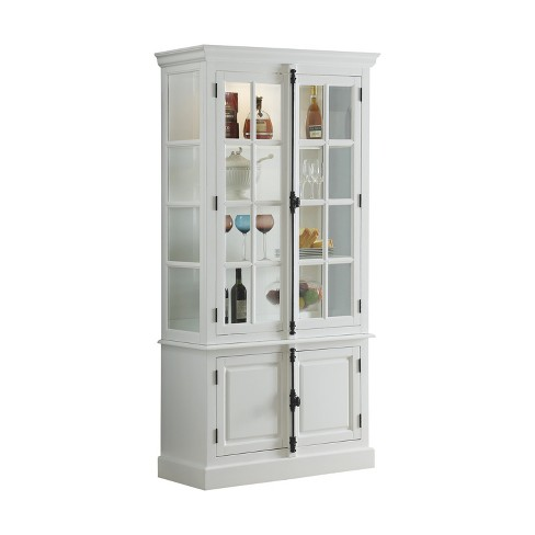 Curio Cabinet White Acme Furniture