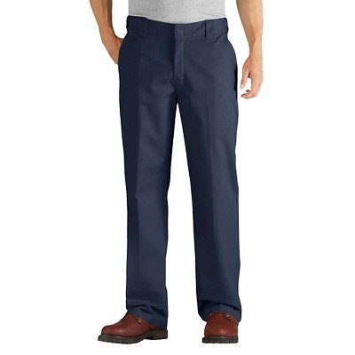 Dickies Men's FLEX Relaxed Fit Straight Leg Twill Comfort Waist Pants