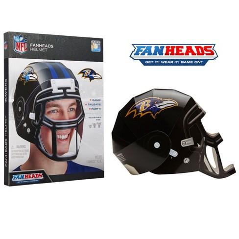 NFL Baltimore Ravens FanHeads Laminate Paper Football Helmet