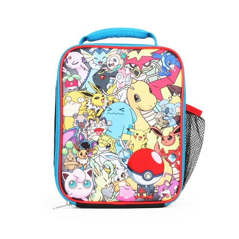 Pokemon Lunch Bag With Water Bottle Pocket   Target a084d301eff64