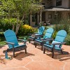 Malibu 4pk Acacia Adirondack Chairs - Christopher Knight Home - image 2 of 4